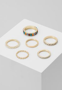 Pieces - PCKILLY 6 PACK - Ring - gold-coloured - 0