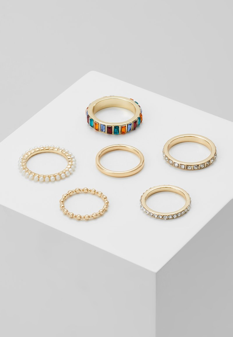 Pieces - PCKILLY 6 PACK - Ring - gold-coloured