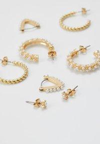 Pieces - PCNIVI EARRINGS 4 PACK - Øreringe - gold-coloured - 3
