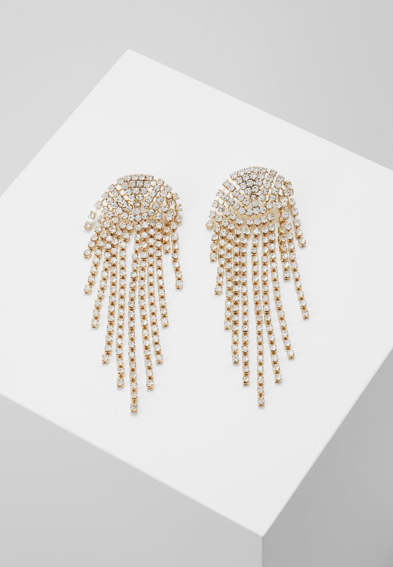 Pieces - PCNIKKA EARRINGS - Pendientes - gold-coloured