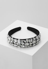 Pieces - PCVUJA HAIRBAND - Hair styling accessory - black/clear - 0