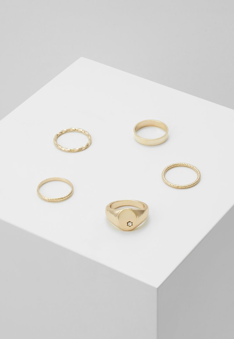 Pieces - Ringar - gold-coloured