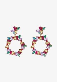 Pieces - PCKAMILLE EARRINGS - Korvakorut - emerald - 4