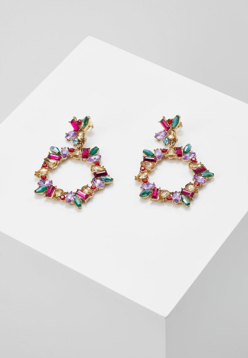Pieces - PCKAMILLE EARRINGS - Örhänge - emerald