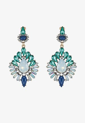 PCEILIDH EARRINGS - Oorbellen - emerald