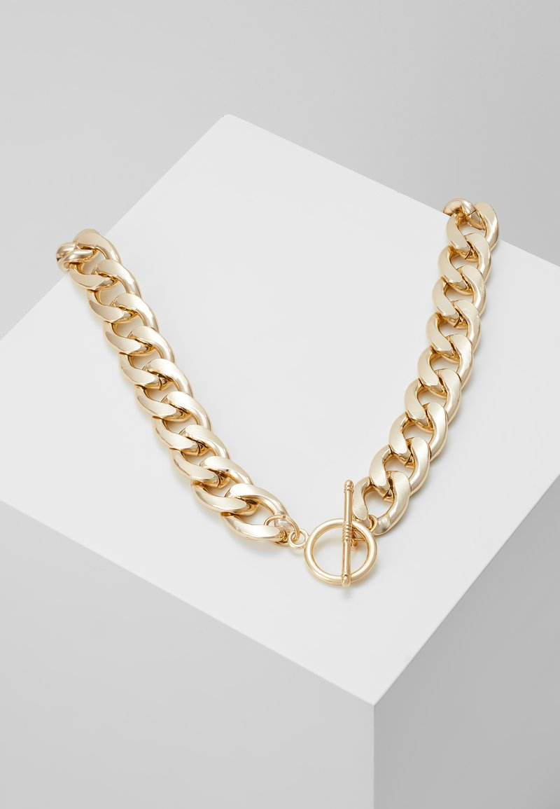 Pieces - PCLERENDA NECKLACE - Ketting - gold-coloured