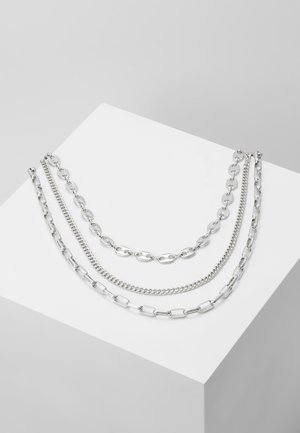 PCNASRO COMBI NECKLACE - Collier - silver-coloured