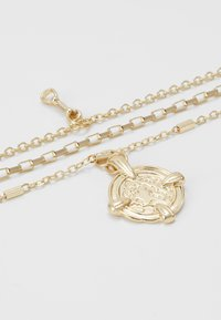 Pieces - PCDORTHIE COMBI NECKLACE  - Ketting - gold-coloured - 2