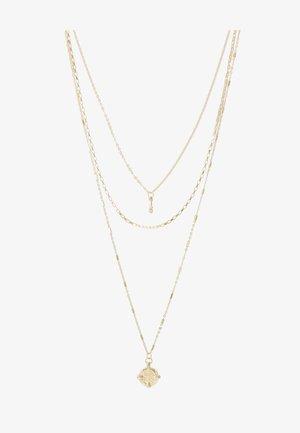 PCDORTHIE COMBI NECKLACE  - Náhrdelník - gold-coloured