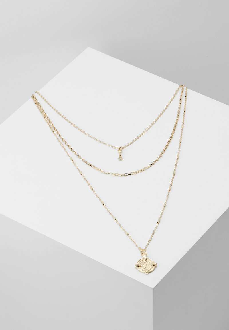 Pieces - PCDORTHIE COMBI NECKLACE  - Ketting - gold-coloured