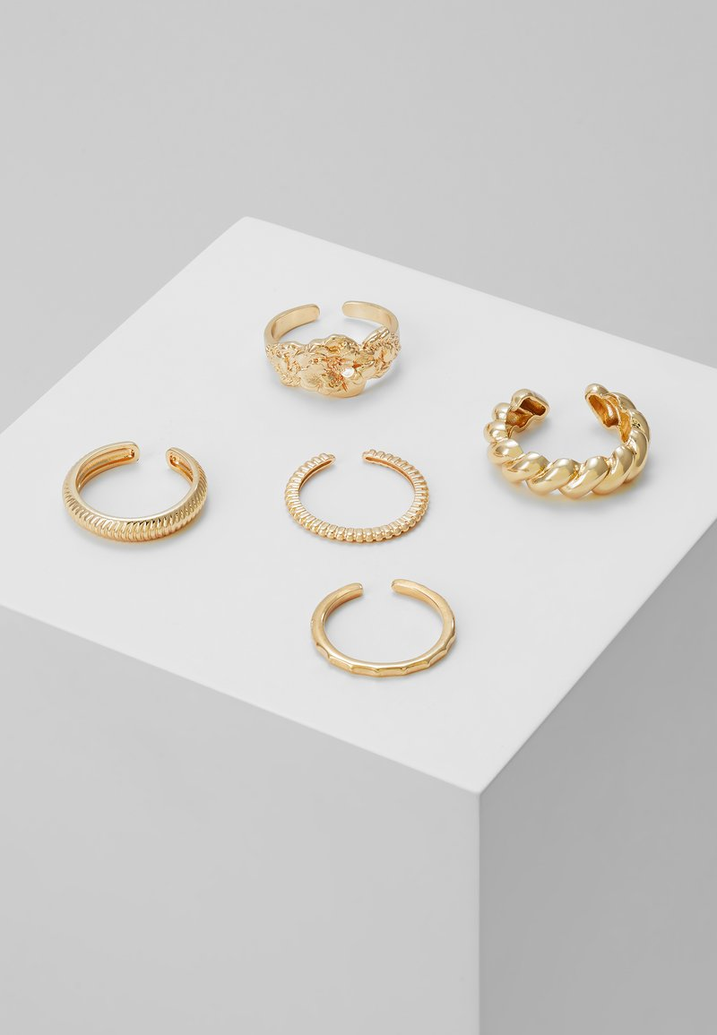 Pieces - PCKATRINA 5 PACK - Ring - gold-coloured