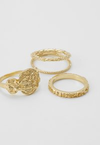 Pieces - PCKATRINO 3 PACK - Ring - gold-coloured - 2