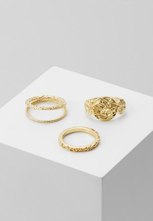 PCKATRINO 3 PACK - Ring - gold-coloured