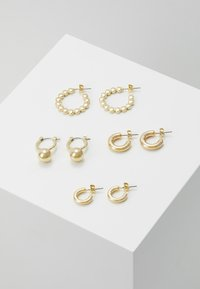 Pieces - PCDIELLE HOOP EARRINGS 4 PACK  - Ohrringe - gold-coloured - 0