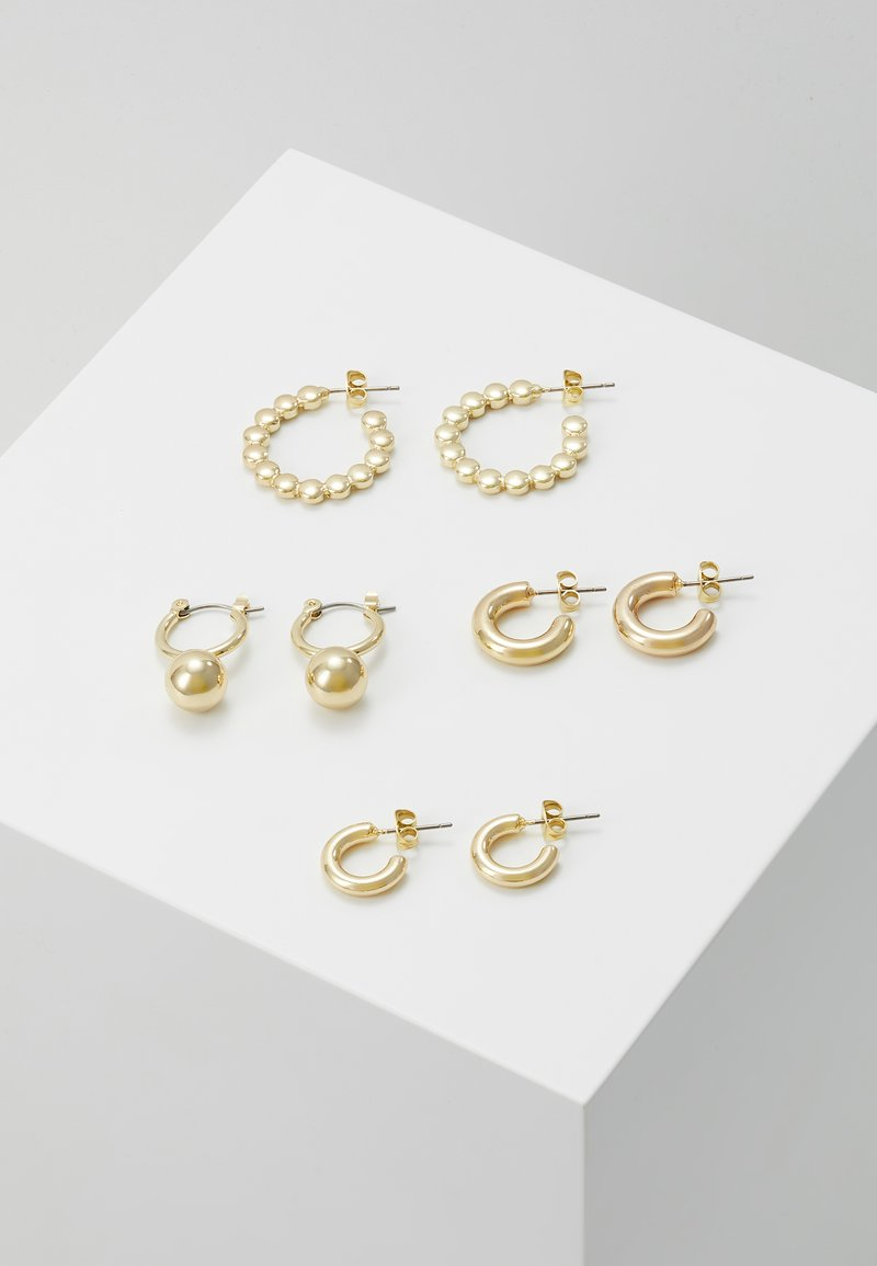 Pieces - PCDIELLE HOOP EARRINGS 4 PACK  - Ohrringe - gold-coloured