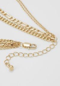 Pieces - PCOKIA COMBI NECKLACE - Necklace - gold-coloured - 2