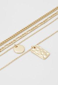 Pieces - PCOKIA COMBI NECKLACE - Necklace - gold-coloured - 4