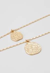 Pieces - PCROMAN COMBI NECKLACE  - Naszyjnik - gold-coloured - 2
