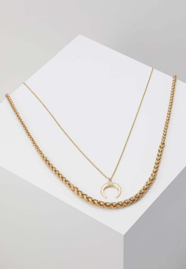 PCHORN COMBI NECKLACE SET - Collar - gold-coloured