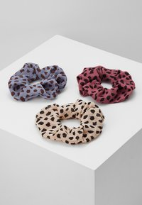 Pieces - PCSPOTTY SCRUNCHIE 3 PACK - Hair Styling Accessory - kentucky blue/beige/rose - 0