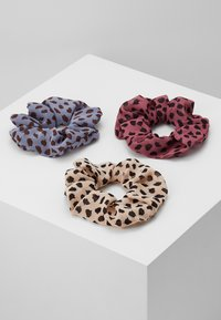 Pieces - PCSPOTTY SCRUNCHIE 3 PACK - Hair Styling Accessory - kentucky blue/beige/rose - 3