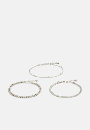 PCFIBO BRACELET 3 PACK - Bracelet - silver-coloured