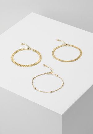 PCFIBO BRACELET 3 PACK - Bracelet - gold-coloured