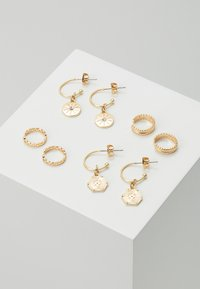 Pieces - PCGABRILY EARRINGS 4 PACK - Pendientes - gold-coloured - 0