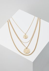 Pieces - PCDUNJA COMBI NECKLACE 3 PACK - Collier - gold-coloured - 0