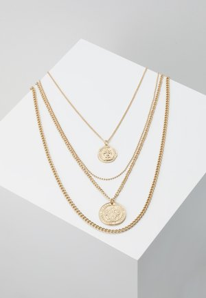 PCDUNJA COMBI NECKLACE 3 PACK - Collier - gold-coloured