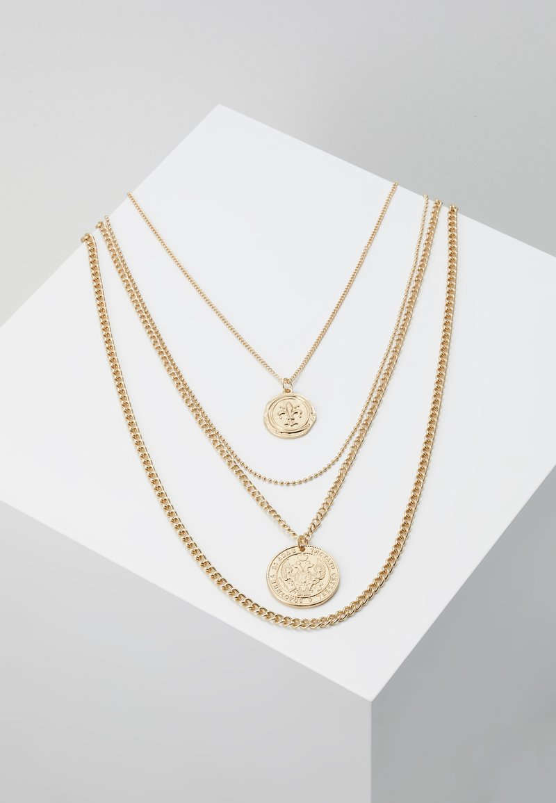 Pieces - PCDUNJA COMBI NECKLACE 3 PACK - Collier - gold-coloured