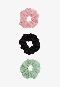 Pieces - PCJESSICA SCRUNCHIE 3 PACK - Hair Styling Accessory - black/rose - 3