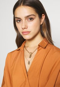 Pieces - PCDUNIO COMBI NECKLACE KEY 2 PACK - Ketting - gold-coloured - 1