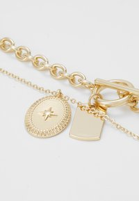 Pieces - PCDUNIO COMBI NECKLACE KEY 2 PACK - Collier - gold-coloured - 4