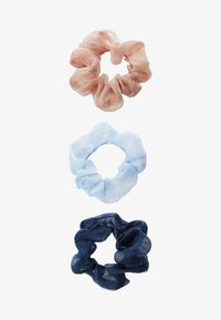 Pieces - PCJULIETTA SCRUNCHIE 3-PACK - Hair Styling Accessory - kentucky blue/tcoco-nbla - 1