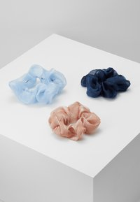 Pieces - PCJULIETTA SCRUNCHIE 3-PACK - Hair Styling Accessory - kentucky blue/tcoco-nbla - 0