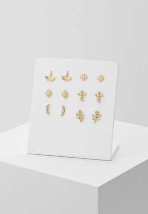 PCFYRA EARSTUD 6 PACK - Oorbellen - gold-coloured