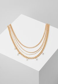 Pieces - PCDORIS COMBI NECKLACE - Necklace - gold-coloured - 0