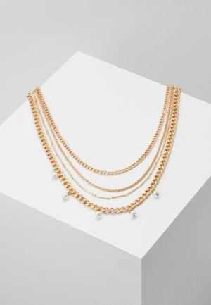 PCDORIS COMBI NECKLACE - Collier - gold-coloured