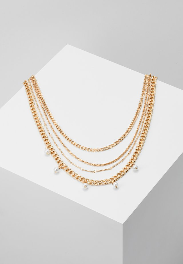 PCDORIS COMBI NECKLACE - Collana - gold-coloured