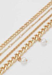Pieces - PCDORIS COMBI NECKLACE - Necklace - gold-coloured - 2