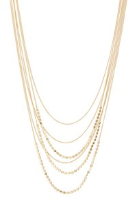 Pieces - PCJUDITHA COMBI NECKLACE  - Smykke - gold-coloured - 3