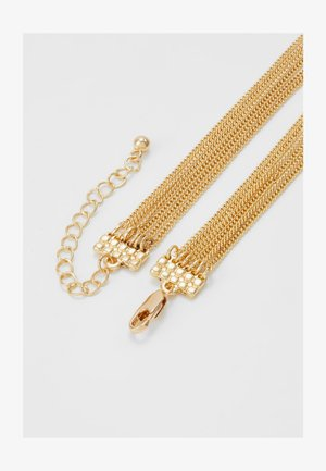 PCJUDITHA COMBI NECKLACE  - Smykke - gold-coloured