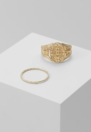 PCHELENA 2 PACK - Ring - gold-coloured