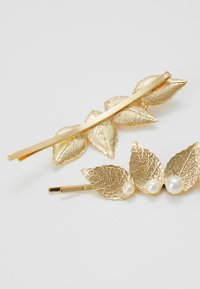 Pieces - PCANGIL HAIR PIN 2 PACK - Accessori capelli - gold-coloured
