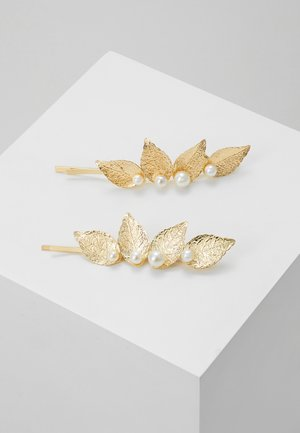 PCANGIL HAIR PIN 2 PACK - Accessoires cheveux - gold-coloured