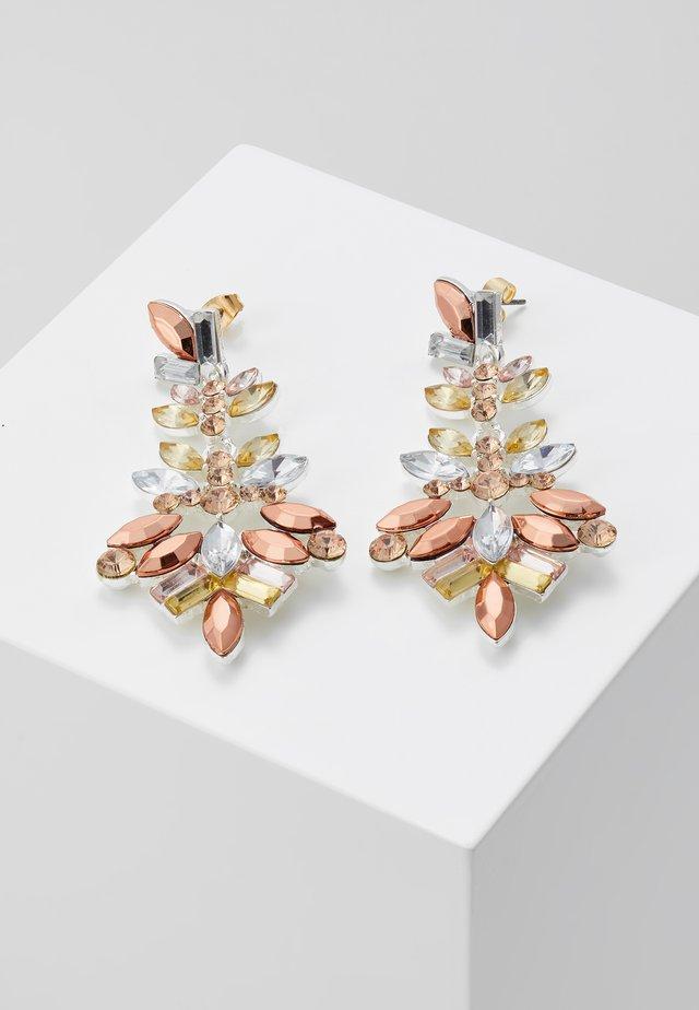 PCCHANDELIER EARRINGS - Oorbellen - silver-coloured