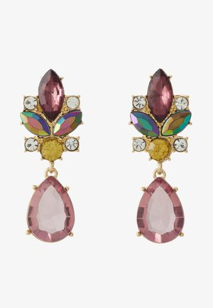 PCTEAR EARRINGS - Oorbellen - gold-coloured