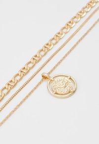 Pieces - PCPRIMA COMBI NECKLACE 3 PACK - Necklace - gold-coloured - 2