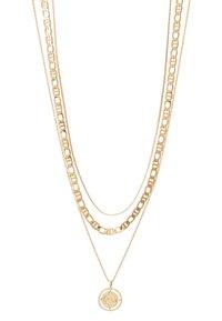 Pieces - PCPRIMA COMBI NECKLACE 3 PACK - Necklace - gold-coloured - 3